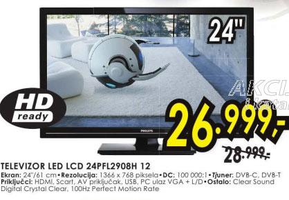 Televizor LED LCD 24PFL2908H/12