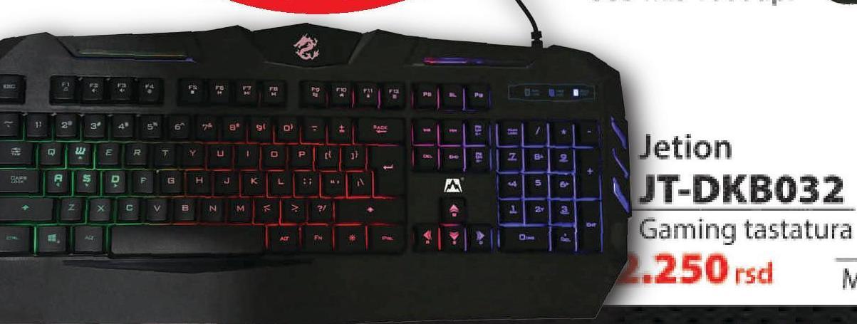 Tastatura JT-DKB032