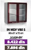 Kuhinjski element IN MDF V80 S moka