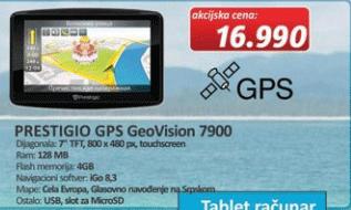 GPS Navigacija GeoVision 7900