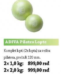 Pilates lopte ADIVA