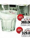 Čaša casablanka za sok