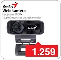 Web kamera Facecam 1000x