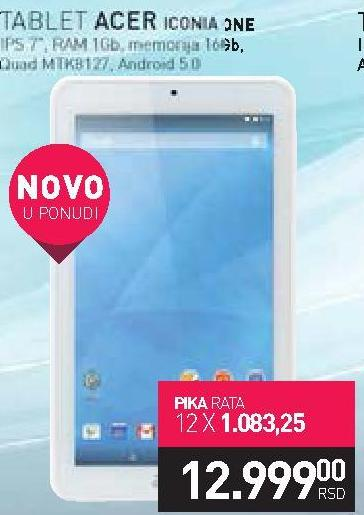 Tablet Iconia One 7