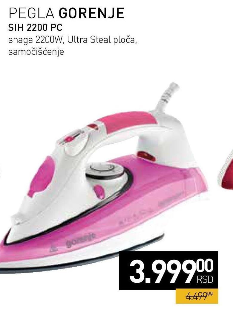 Pegla SIH 2200 PC