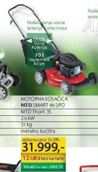 Motorna kosačica MTD