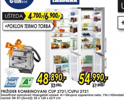 Frižider kombinovani CUP 2721