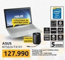 Laptop N750JV-T4191
