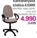 Kancelarijska stolica A15MR