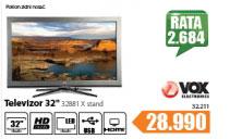 """Televizor TV 32"""" LED 32881 X stand"""