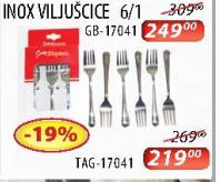 Inox viljuščice TAG-17041