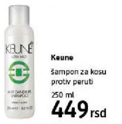 Šampon za kosu protiv peruti