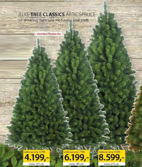 Jelka Tree Classic Artic Spruce 155cm