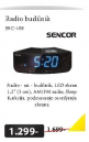 Radio budilnik Sencor SRC-108