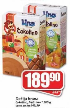 Dečija hrana Frutolino