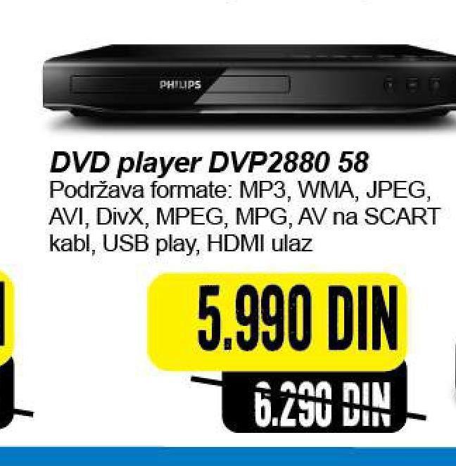 DVD plejer DVP2880