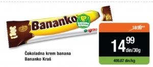 Čokoladica Bananko