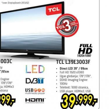 Televizor LED L39E3003F