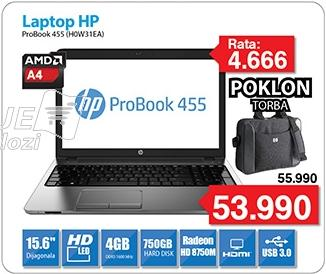 Laptop ProBook 455 H0W31EA poklon Torba