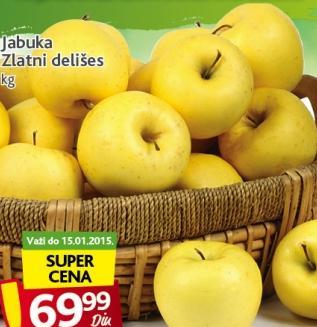 Jabuka zlatni delišes