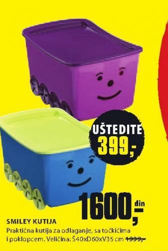 Kutija za odlaganje Smiley