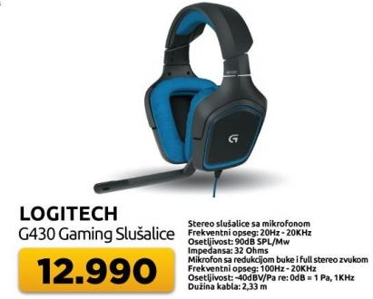 Slušalice Gaming G430