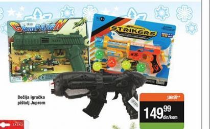 Igračka pištolj