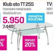 Klub sto TT255