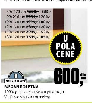 MEGAN Roletna