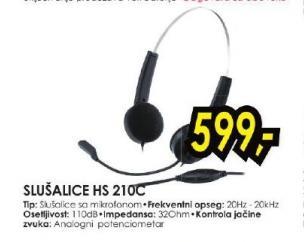 Slušalice HS 210C