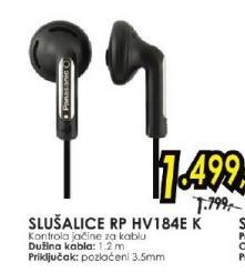 Slušalice RP HV184E K