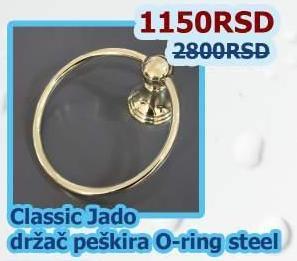 Držač peškira o-ring Classic Jado