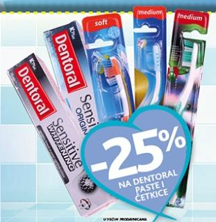 -25% na Dentoral paste i četkice