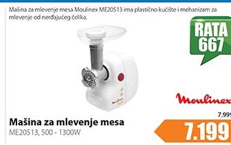 Mašina za mlevenje mesa ME20513