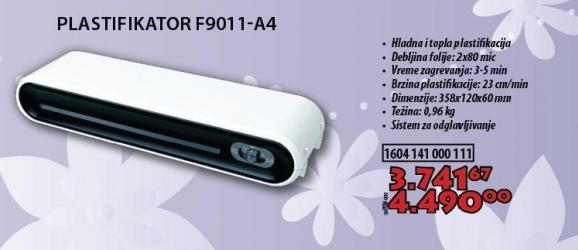 Plastifikator F9011-A4