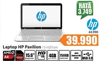 Laptop Pavilion 15-n051sm