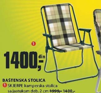 Baštenska stolica Skjerpe