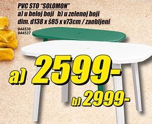 Sto PVC Solomon zeleni
