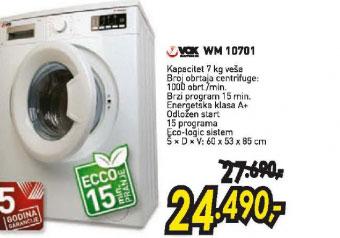 Veš mašina WM 10701