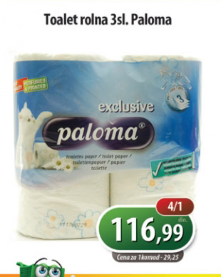 Toalet papir Exclusive