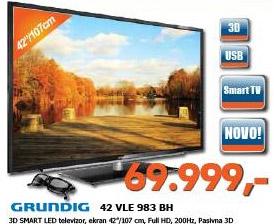3D LED Televizor 42 VLE 983 BH