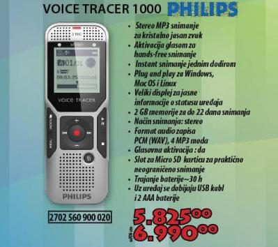 DIKTAFON DVT1000