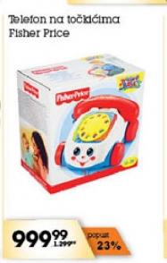 Igračka Telefon na točkićima