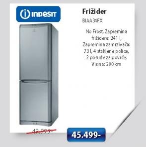 Frižider Biaa34Fx
