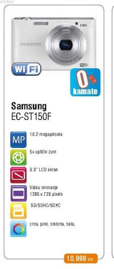 Fotoaparat  EC-ST150FBPWE3