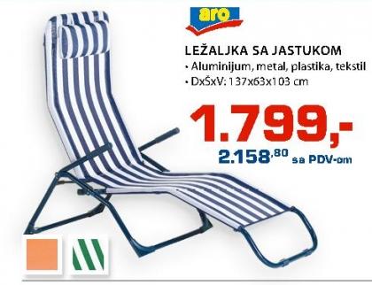 Ležaljka sa jastukom
