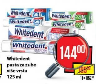 Pasta za zube Whitedent