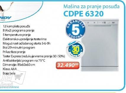 Mašina Za Sudove CDPE 6320