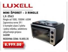 Mini šporet LX-3563