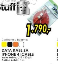 Data kabl za Iphone 4